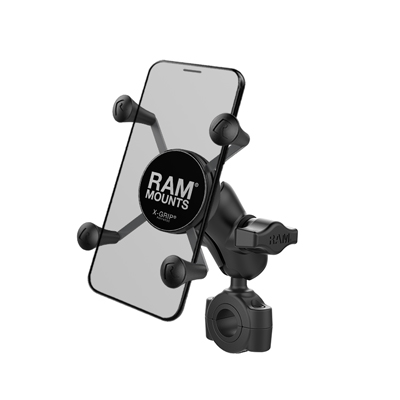RAM-B-408-75-1-A-UN7U - RAM X-Grip Phone Mount with RAM Torque Medium Rail Base