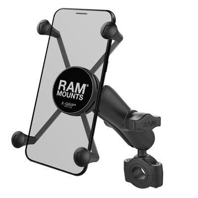 RAM-B-408-75-1-UN10U - RAM X-Grip Large Phone Mount with RAM Torque Medium Rail Base