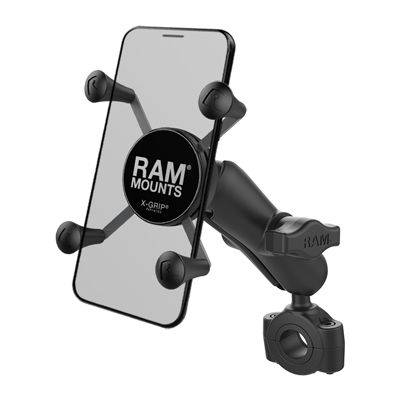 RAM-B-408-75-1-UN7U - RAM X-Grip Phone Mount with RAM Torque Medium Rail Base