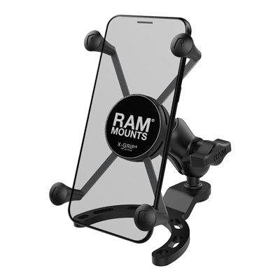 RAM-B-410-A-UN10BU - RAM X-Grip Large Phone Mount with Small Gas Tank Base