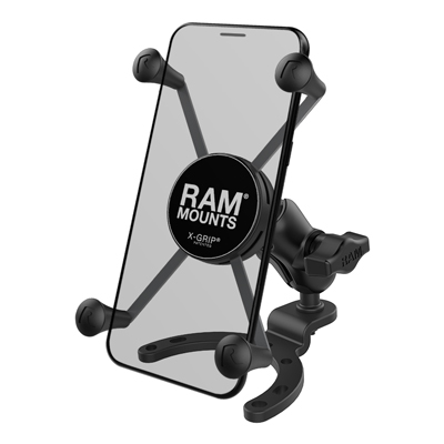 RAM-B-411-A-UN10BU - RAM X-Grip Large Phone Mount with Large Gas Tank Base
