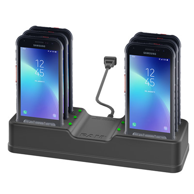 RAM-DOCK-6G-SAM72PU - RAM 6-Port Charging Dock for Samsung XCover FieldPro