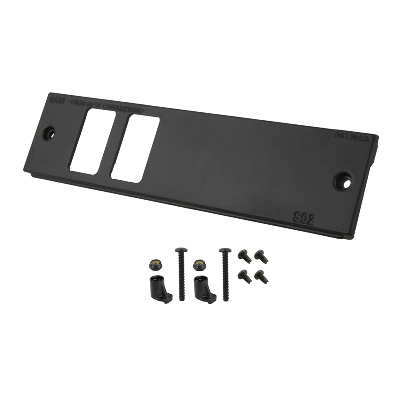 RAM-FP2-S2L-0830-1450 - S02 RAM DOUBLE SWITCH FACEPLATE LH