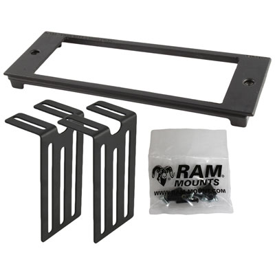 "RAM-FP3-7250-2500 - RAM Tough-Box 3"" Custom Faceplate for 7.25"" x 2.5"" Devices"