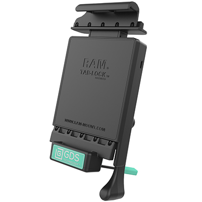 RAM-GDS-DOCKL-V2-SAM10U - GDS Locking Vehicle Dock for Samsung Tab S 10.5