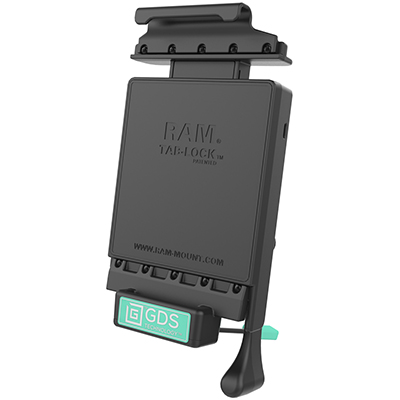 RAM-GDS-DOCKL-V2-SAM11U - GDS Locking Vehicle Dock for Samsung Tab 4 7.0