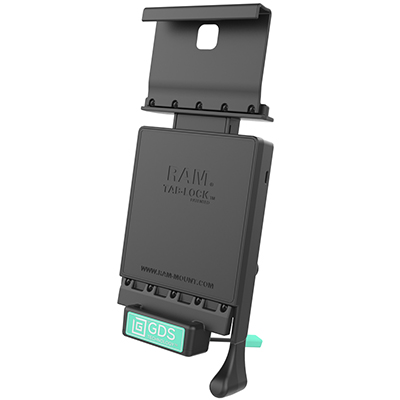 RAM-GDS-DOCKL-V2-SAM15U - GDS Locking Vehicle Dock for Samsung Tab A 9.7