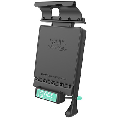 RAM-GDS-DOCKL-V2-SAM18U - GDS Locking Vehicle Dock for Samsung Tab S2 8.0