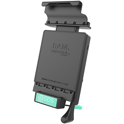 RAM-GDS-DOCKL-V2-SAM21U - GDS Locking Vehicle Dock for Samsung Tab E 8.0