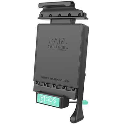 RAM-GDS-DOCKL-V2-SAM24U - GDS Locking Vehicle Dock for Samsung Tab A 7.0