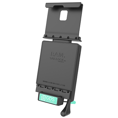 RAM-GDS-DOCKL-V2-SAM41U - GDS Locking Vehicle Dock for Samsung Galaxy Tab S4 10.5""