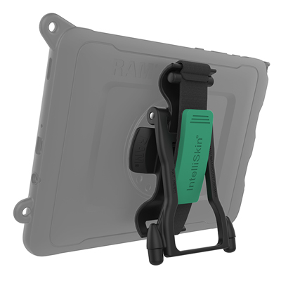 RAM-GDS-HS1MU - GDS Hand-Stand Magnetic Hand Strap and Kick Stand for Tablets