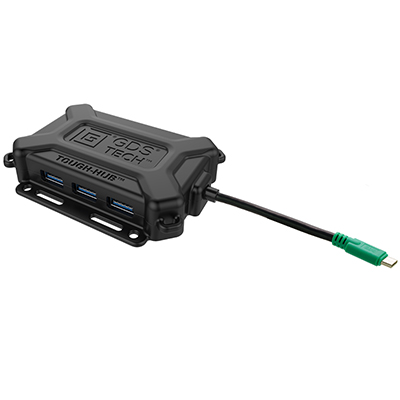 RAM-GDS-HUB-TYPEC-01 - GDS Tough-Hub With USB Type-C For Vehicles