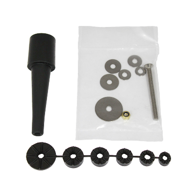 RAM-HAR-B-342U - RAM Fork Stem Mount Hardware Pack with Rubber Expansion Plug