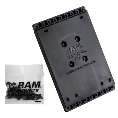 RAM-HOL-AC-202U - RAM Tab-Tite Backplate with Ball Base & Hardware