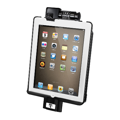 RAM-HOL-AP8D2LU - RAM Dock-N-Lock Cradle for Apple iPad 2