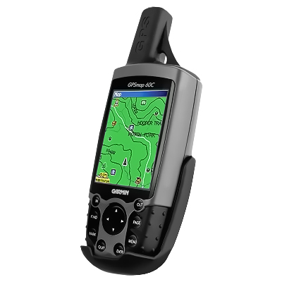 RAM-HOL-GA12U - RAM Form-Fit Cradle for Garmin Astro 220, GPS 60 & GPSMAP 60 Series