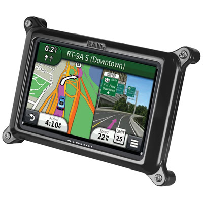 RAM-HOL-GA25LU - RAM Form-Fit Locking Cradle for Garmin nuvi 200W, 285WT & 465T + More