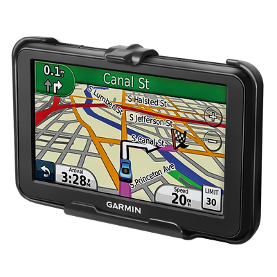 RAM-HOL-GA49U - RAM Form-Fit Cradle for Garmin nuvi 40 & 40LM