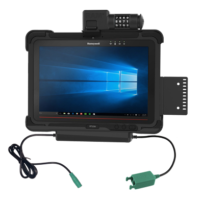 RAM-HOL-HON9PD2CLU - RAM Combo Locking Power + Dual USB Dock for Honeywell RT10 Tablet
