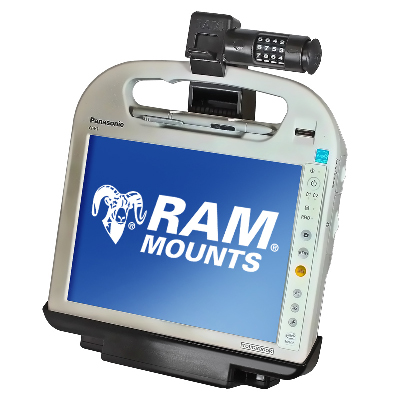 RAM-HOL-PAN5PU - RAM Tough-Dock for Panasonic Toughbook CF-H1/CF-H2 Field & Health