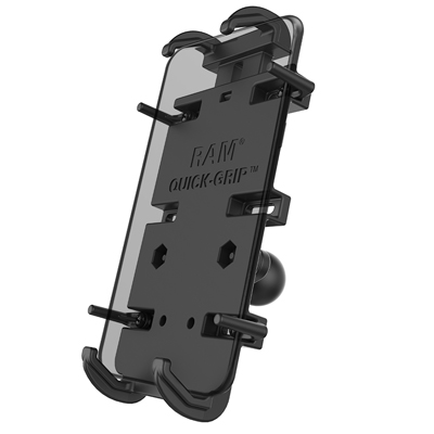 RAM-HOL-PD4-238AU - UNPKG RAM QUICK GRIP PHONE HOLDER FOR LARGER DEVICES W/ DIAMOND BASE
