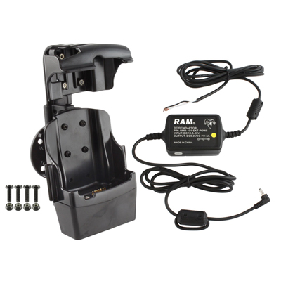 RAM-HOL-SYM3PE-RAY1U - RAM Quick-Draw Jr Powered Dock for Motorola MC5590, MC67 + More