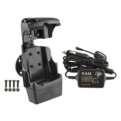 RAM-HOL-SYM3PEC-NOUSBU - RAM Quick-Draw Jr Powered Dock for Motorola MC5590, MC67 + More