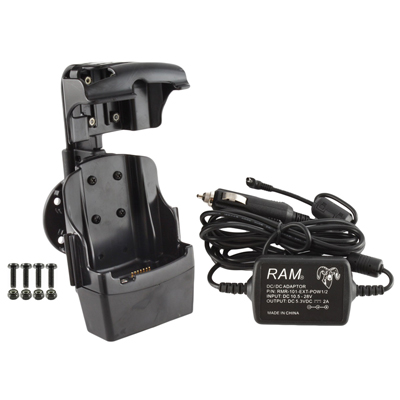 RAM-HOL-SYM3PECU - RAM Quick-Draw Jr Powered Dock for Motorola MC5590, MC67 + More