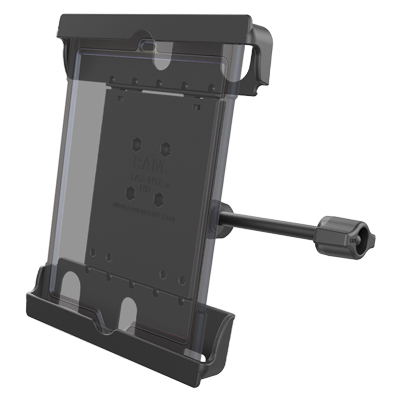 "RAM-HOL-TAB20-B-201-A-ALA1-KRU - RAM Tab-Tite Holder for 9""-10.5"" Tablets with Cases and Retention Arm"