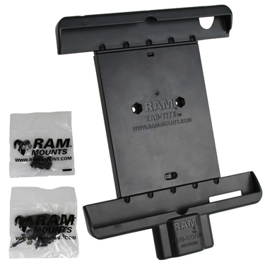 RAM-HOL-TABD7U - RAM Tab-Dock Spring Loaded Holder for the Apple iPad Gen 2