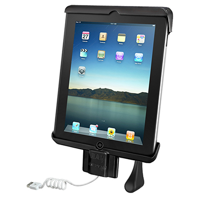 RAM-HOL-TABDL7U - RAM Dock-N-Lock Spring Loaded Holder for the Apple iPad Gen 2