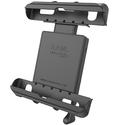 RAM-HOL-TABL17U - RAM Tab-Lock Tablet Holder for Apple iPad Gen 1-4 with Case + More
