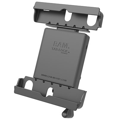 "RAM-HOL-TABL20U - RAM Tab-Lock Holder for 9""-10.5"" Tablets with Heavy Duty Cases"
