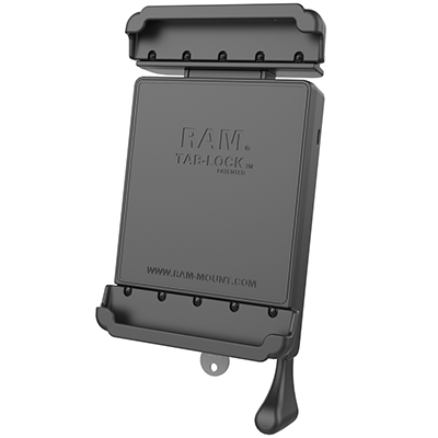 "RAM-HOL-TABL24U - RAM Tab-Lock Spring Loaded Holder for 8"" Tablets"