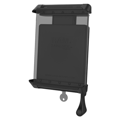 "RAM-HOL-TABL4U - RAM Tab-Lock Spring Loaded Holder for 7""-8"" Tablets with Cases"