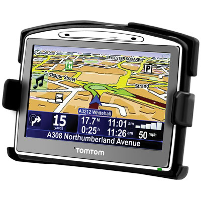RAM-HOL-TO6U - RAM EZ-Roll'r Cradle for TomTom GO 520, 630, 720, 730, 920T + More