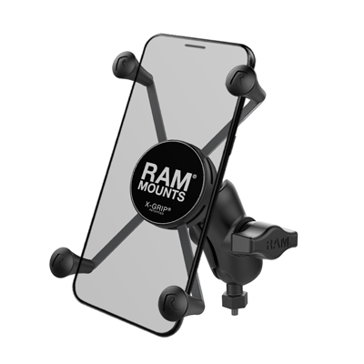 RAM-HOL-UN10B-A-379-M616U - RAM X-Grip Large Phone Mount with RAM Tough-Ball M6-1 x 6mm Base