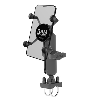 RAM-HOL-UN7B-235U - RAM X-Grip Phone Mount with Double U-Bolt Base