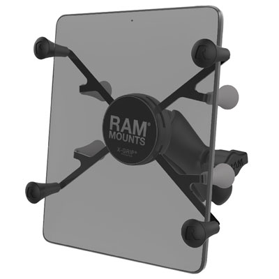 "RAM-HOL-UN8B-201U - RAM X-Grip Universal Holder for 7""-8"" Tablets with Double Socket Arm"