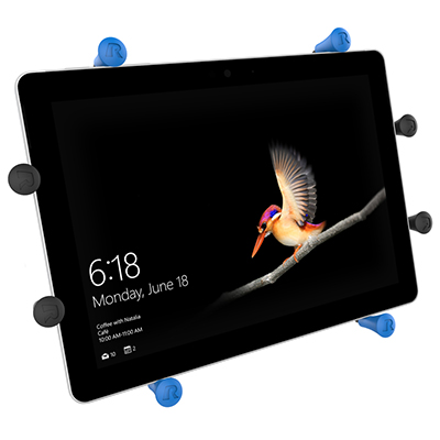 "RAM-HOL-UN9-DFSU - RAM X-GRIP UNIVERSAL 10"" TABLET HOLDER DESIGNED FOR SURFACE GO"