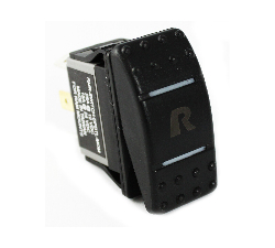 RAM-SWITCH-DPDTL-MOM - RAM Momentary Rocker Switch with Light