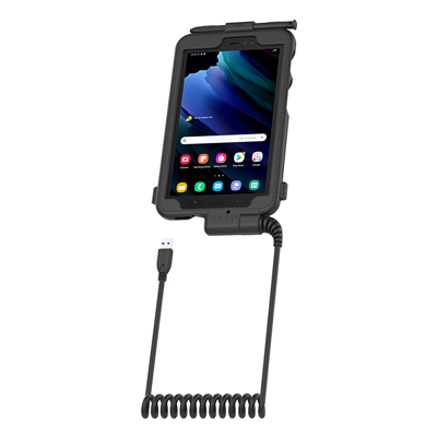 RAM-TC-SAM29U - RAM Tough-Case with USB Type A for Samsung Tab Active3 and Tab Active2