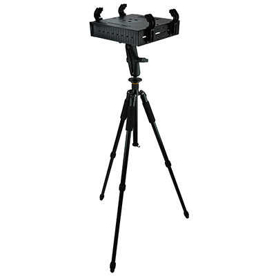 RAM-TRIPOD1-234-3 - RAM Tough-Tray Laptop Holder with Adjustable Tripod