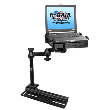 RAM-VB-106-SW1 - RAM No-Drill Laptop Mount for '91-11 Ford Crown Victoria + More