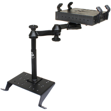 RAM-VB-115-SW1 - RAM No-Drill Laptop Mount for '98-07 Mercury Sable + More