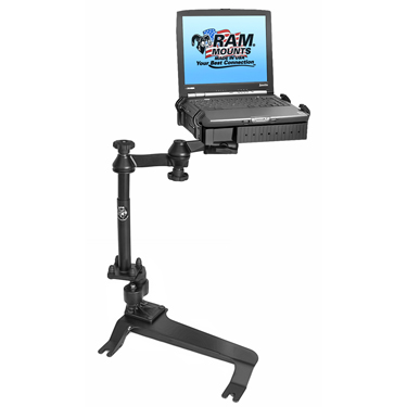 RAM-VB-131A-SW1 - RAM No-Drill Laptop Mount for the '00-06 Chevy Avalanche + More