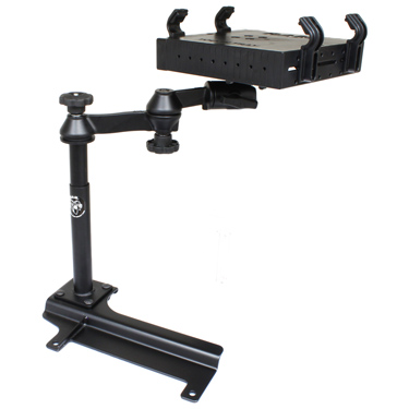 RAM-VB-158-SW1 - RAM No-Drill Laptop Mount for '97-06 Jeep Wrangler
