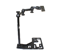 RAM-VB-168-2461 - RAM No-Drill Mount for Heavy Duty Trucks with 75x75mm VESA Plate