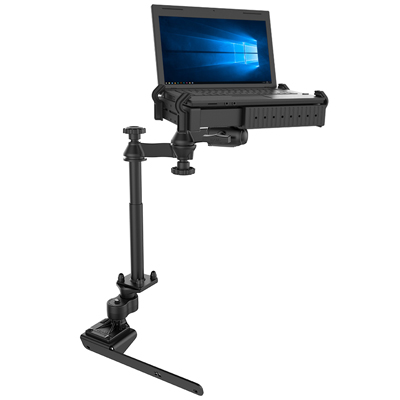 RAM-VB-178A-SW1 - RAM No-Drill Laptop Mount for '12-21 RAM 2500-5500 + More